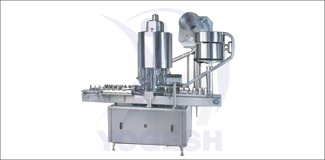 Screw Cap Sealing Machine - Automatic Single Head Screw Capping Machine