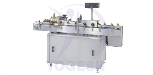 Automatic Self Adhesive Labeling Machine - Automatic (Sticker) Self Adhesive Vertical Labeling Machine